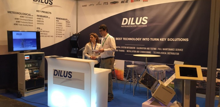 DILUS PRESENT AT THE WORLD METEOROLOGICAL EXPO
