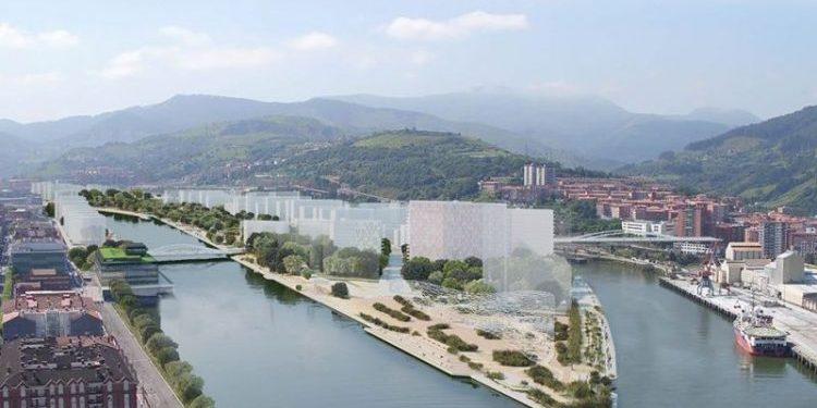 Urbanismo sostenible para habitar una isla en el corazón del Bilbao