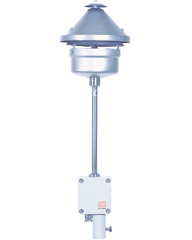 Imagen de Air temperature transmitter with thermal radiation shield