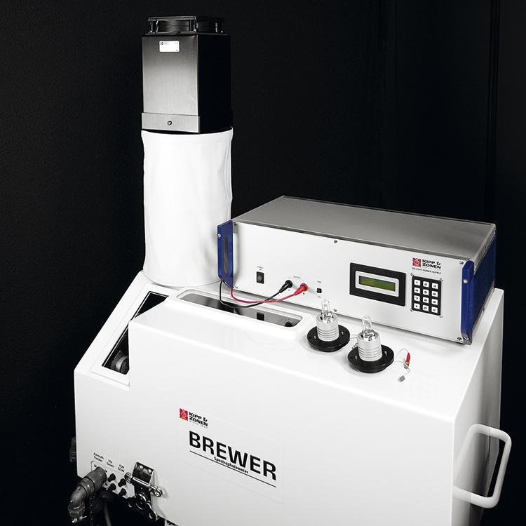 Imagen de Brewer MkIII Espectrofotómetro