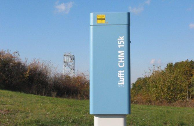 "Imagen de Ceilometer CHM 15k ""NIMBUS"""