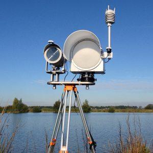 Imagen de Optical & Microwave Scintillometer System