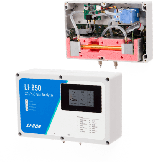 Imagen de New LI-830 CO2 and LI-850 CO2/H2O Analyzers